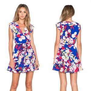 Yumi Kim Soho Mixer Dress Blue Vermillion Bloom XS